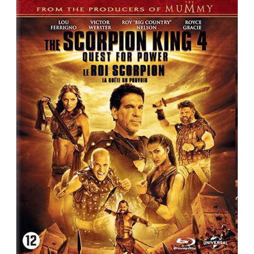 Scorpion king 4 - Quest for power (Blu-ray) kopen