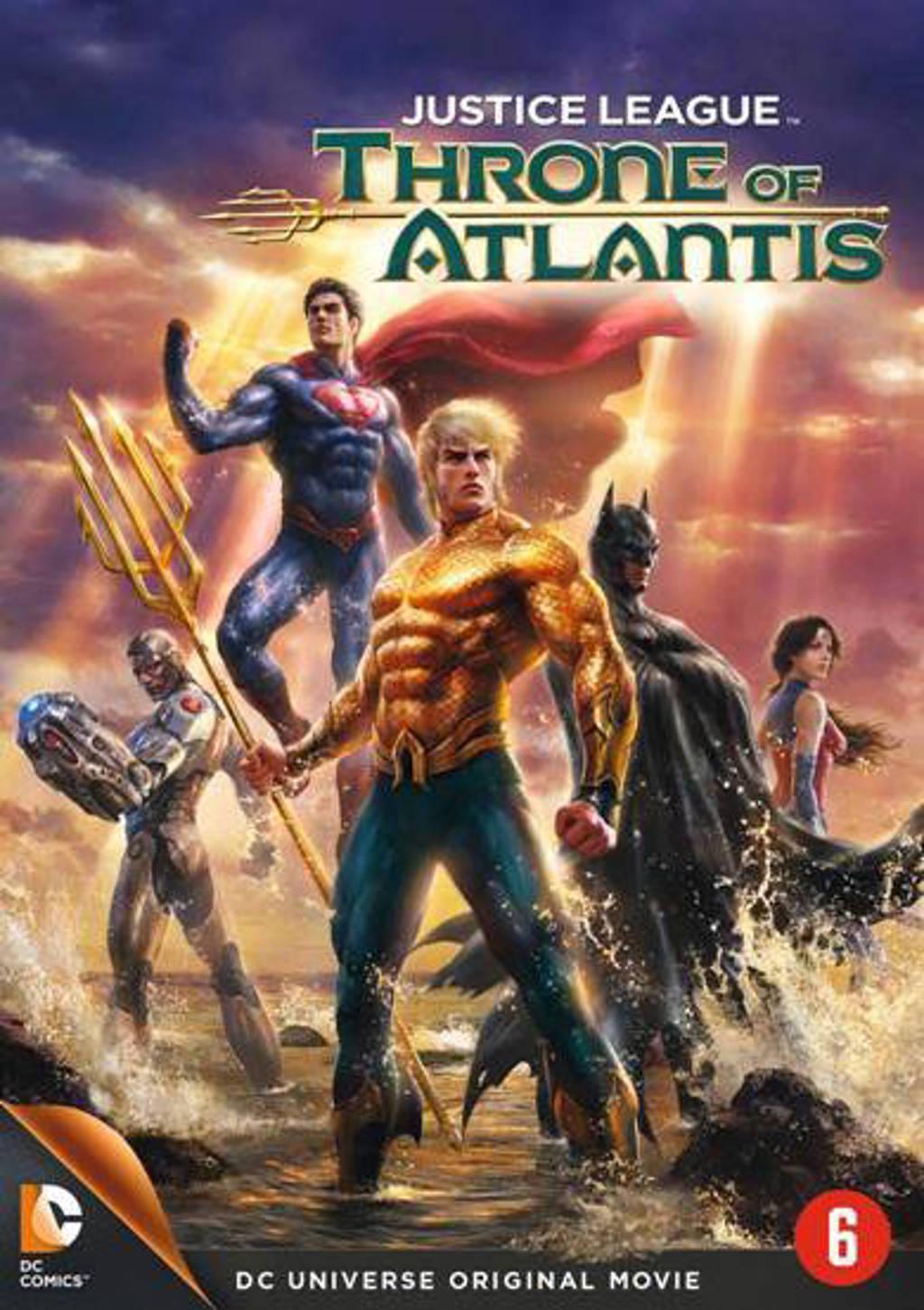 Justice league - Throne of Atlantis (DVD)