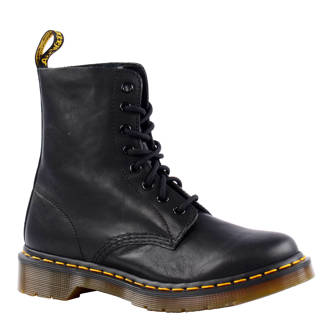 Pascal 8 eye boot leren veterboots