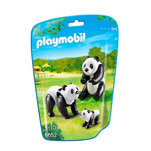Panda met baby's