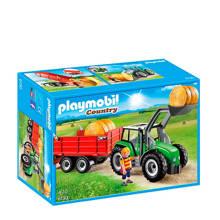 Country tractor met aanhangwagen 6130