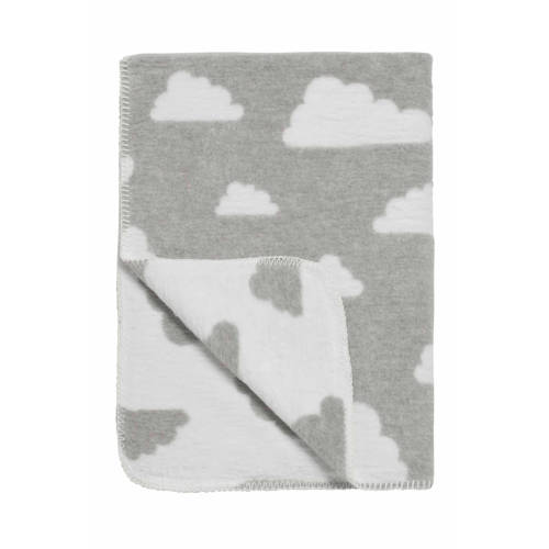 Meyco Deken Little Clouds grijs 120x150