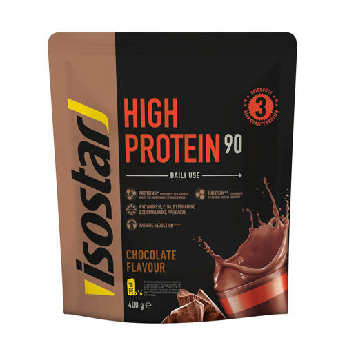 Isostar Powerplay High Protein 90 Chocolate - 1 blik 400 gram kopen