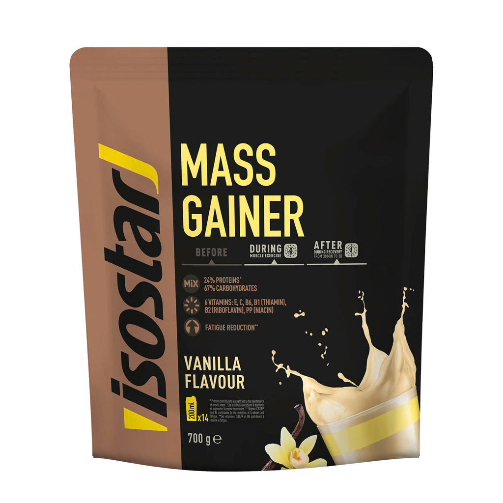 Isostar Powerplay Mass Gainer Vanilla - 1 blik 950 gram