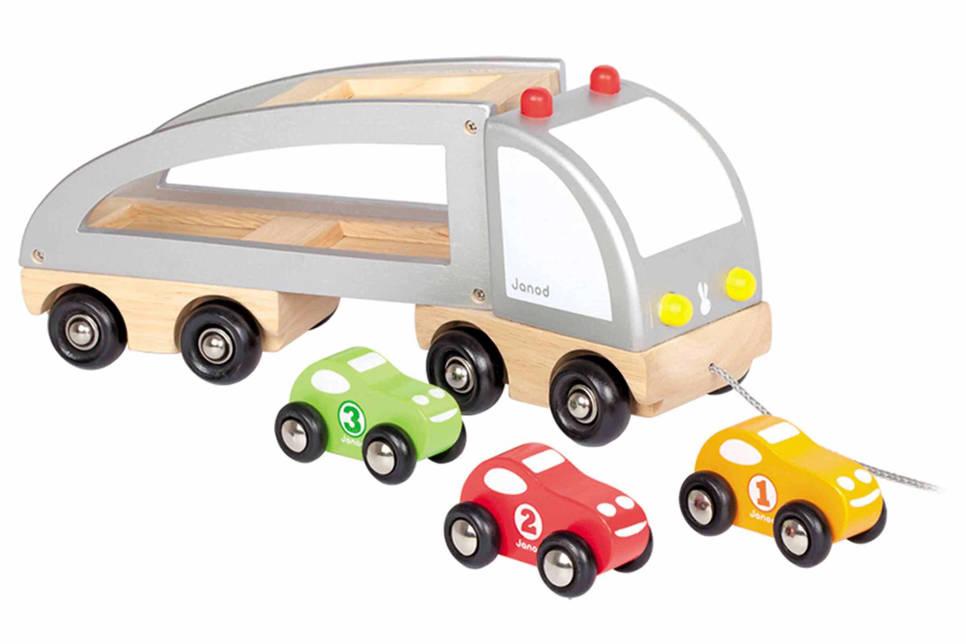 Janod  vrachtwagen trekfiguur