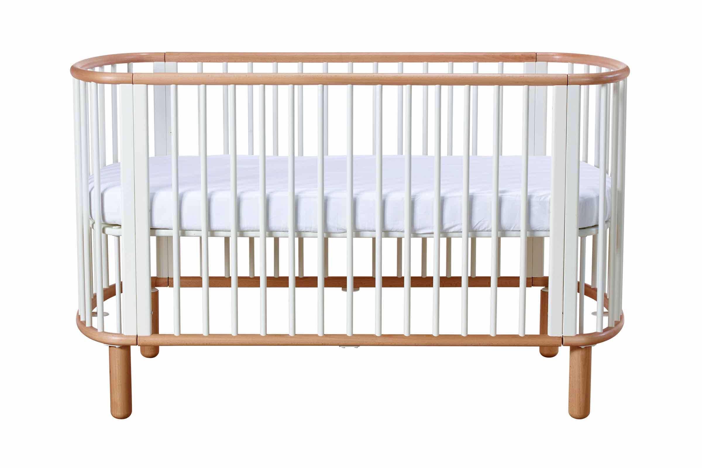 Babybed Aan Bed.5 In 1 Babybed 70x140 Cm