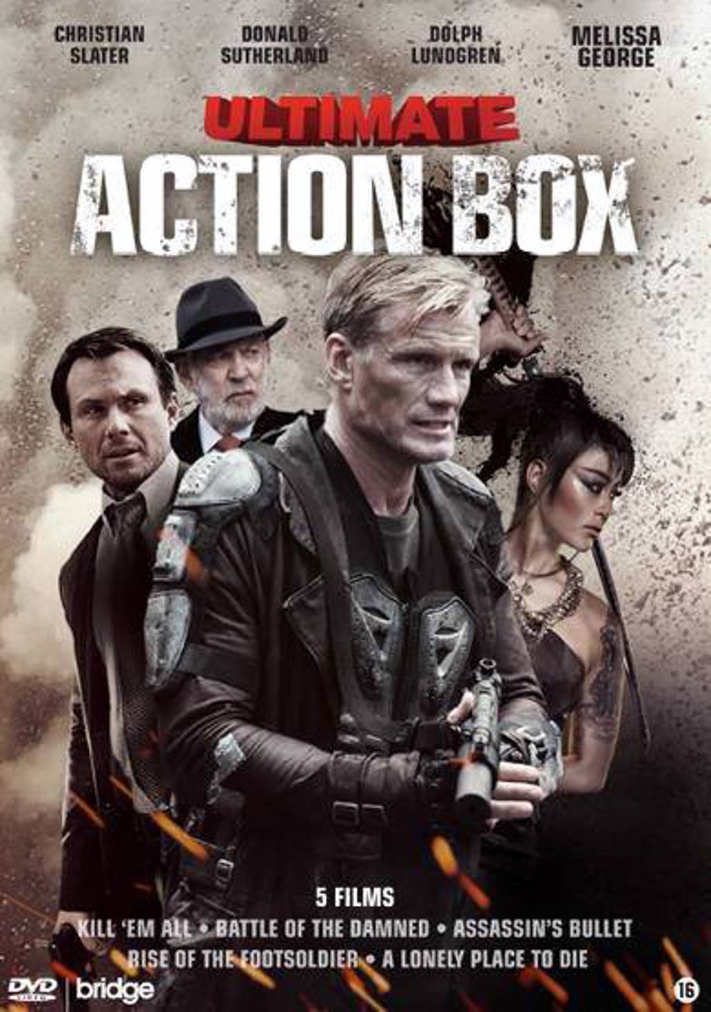 Ultimate action box 1 (DVD)
