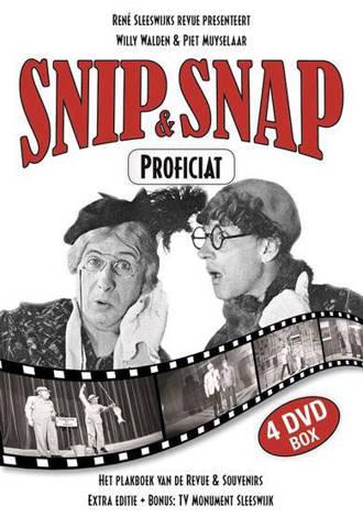 Snip en Snap - Proficiat 75 jaar (DVD)