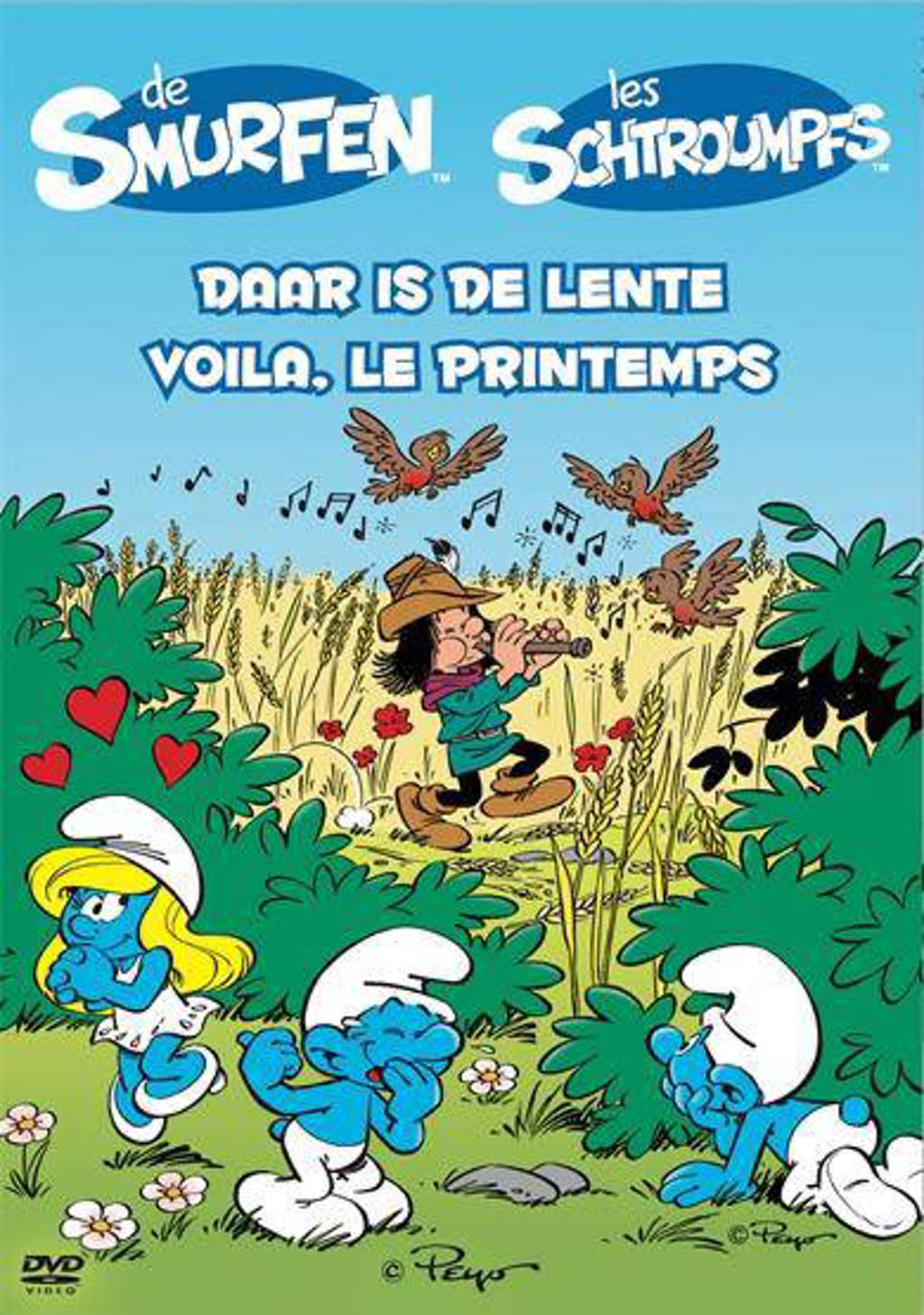 Smurfen - Daar is de lente (DVD)