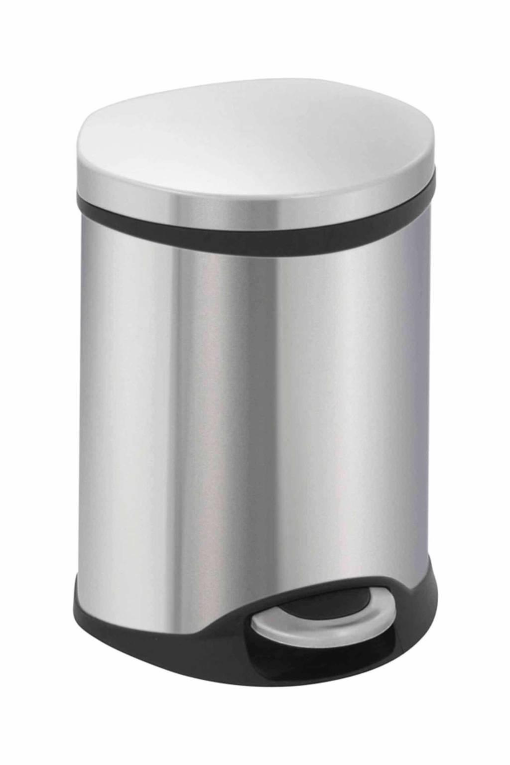 EKO 6 liter pedaalemmer, Mat rvs