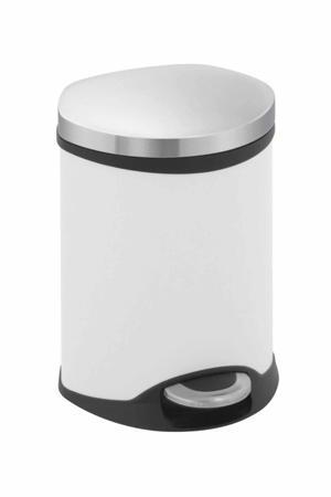 pedaalemmer  (6 liter) Wit