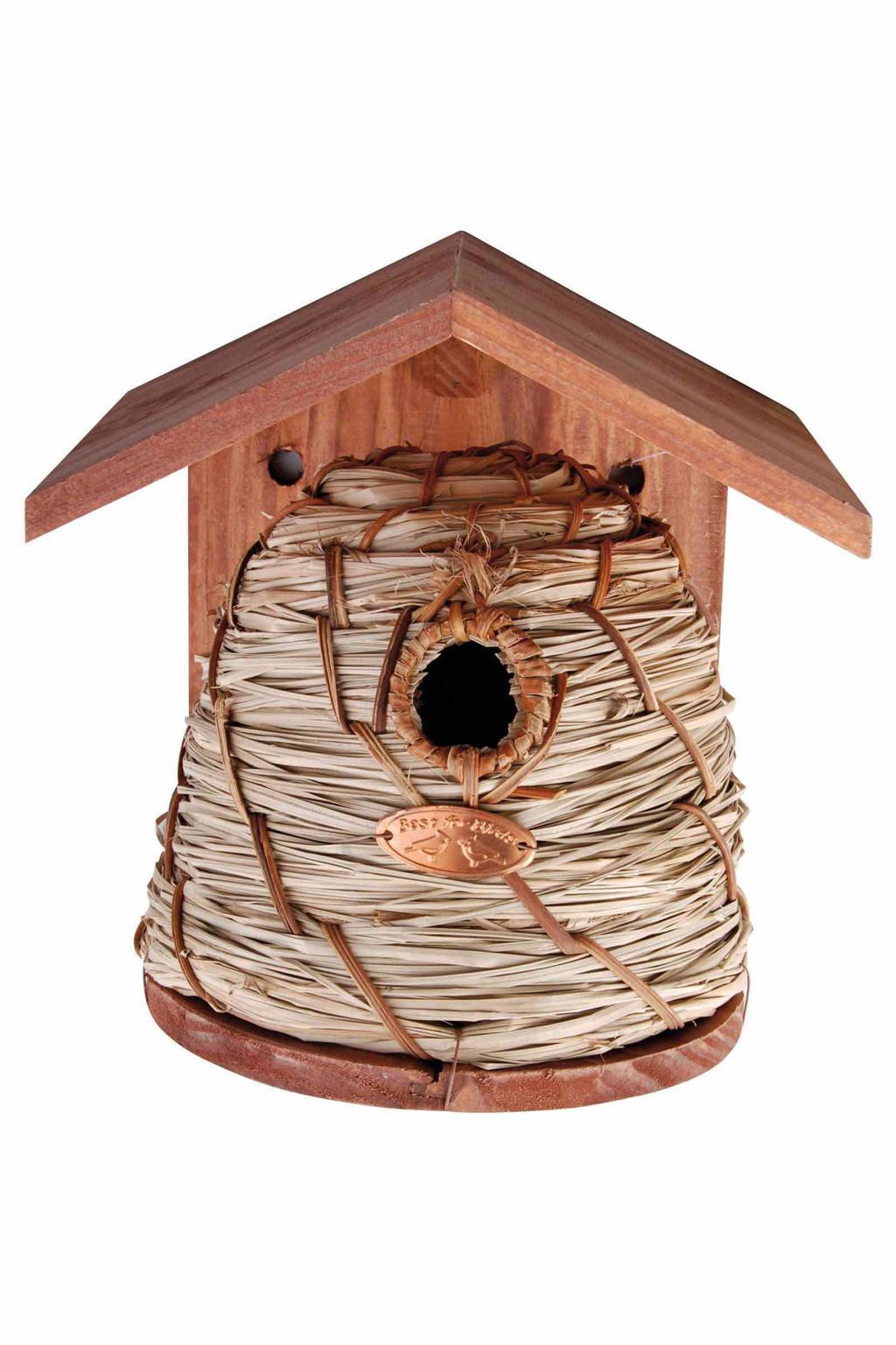 Esschert nestkast (bijenhuis), Bruin