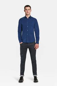 WE Fashion slim fit overhemd, Intense Blue