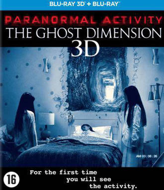 Paranormal activity 5 - The ghost dimension (3D) (Blu-ray)
