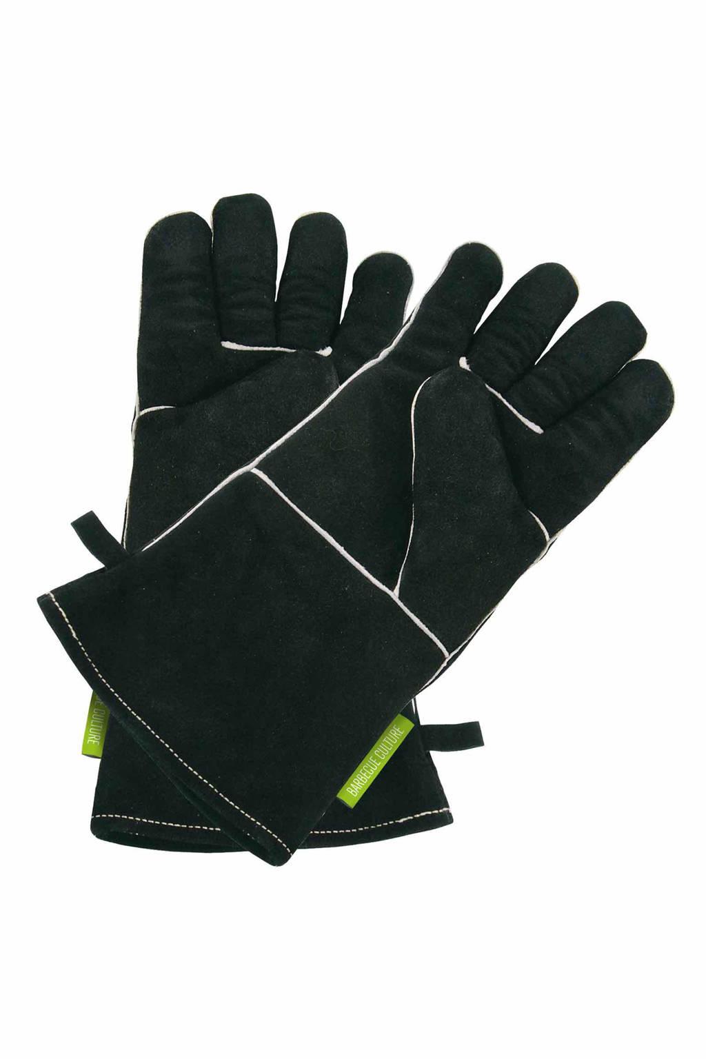 Outdoorchef  leren handschoenen (maat L)