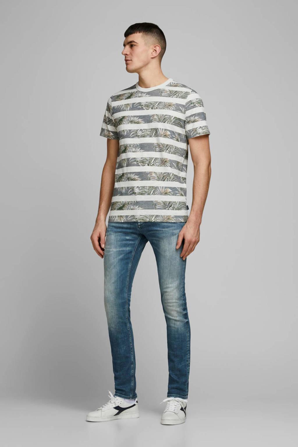 JACK & JONES slim fit jeans Glenn medium blue, 887 Medium Blue