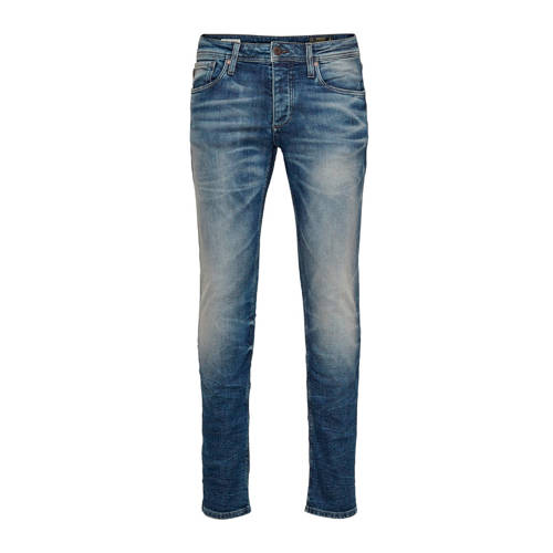 JACK & JONES slim fit jeans Glenn medium blue