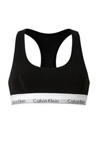 CALVIN KLEIN UNDERWEAR bralette, Zwart/wit