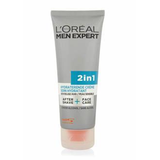 Men Expert 2in1 Tube Sensitive Skin, Dagcreme, 75 ml