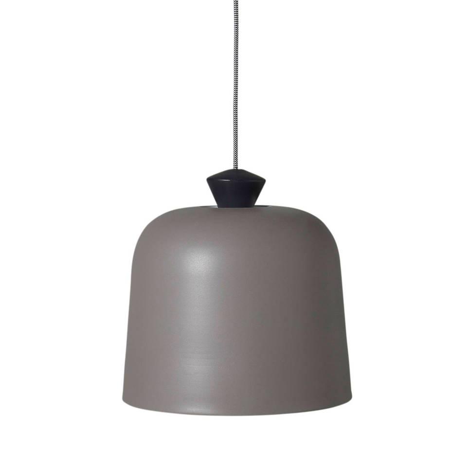 whkmp's own hanglamp, Mat grijs/zwart