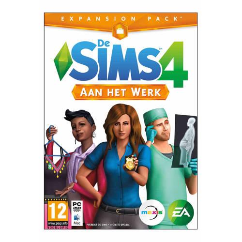 De Sims 4: Aan het werk