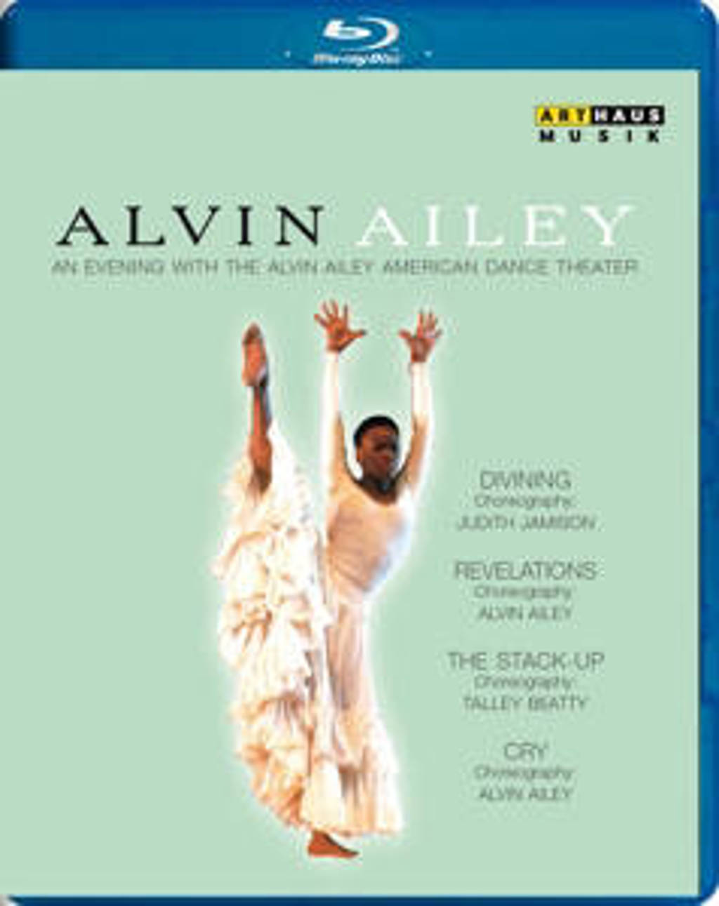 Beatty,Jamison,Ailey - Alvin Ailey Evening With Alvin Aile (Blu-ray)