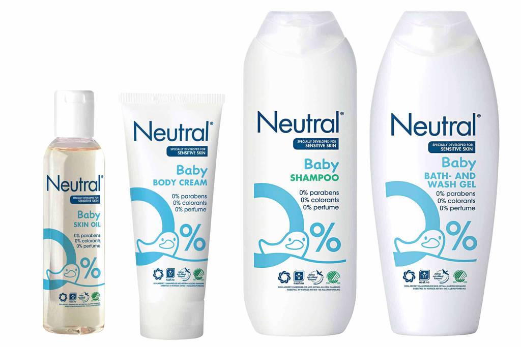 Neutral Baby pakket 4-delig - parfumvrij