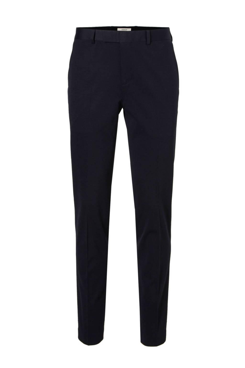 Jack & Jones Premium Steven slim fit pantalon, Donkerblauw
