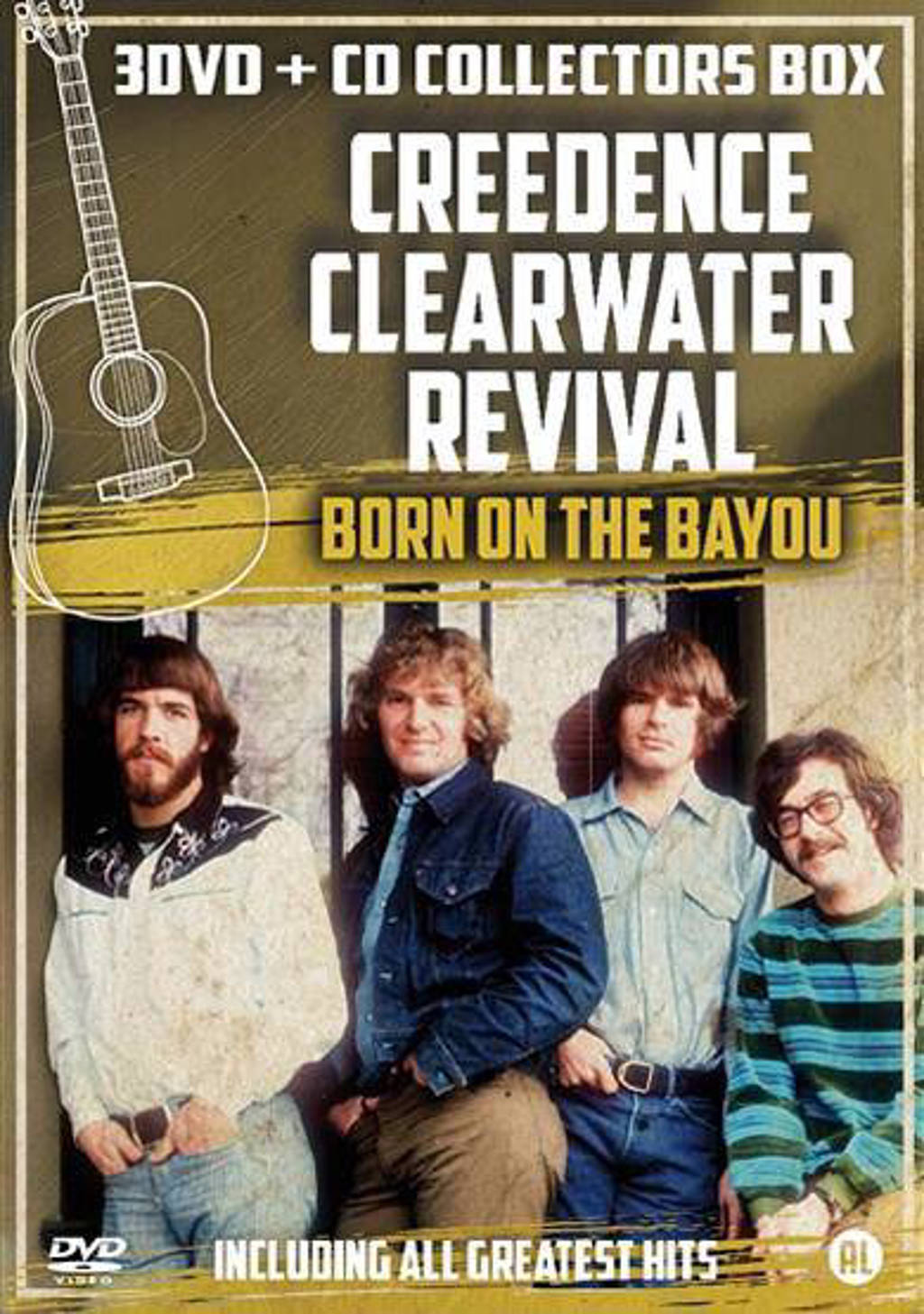 Creedence clearwater revival - Born on the Bayou (DVD)