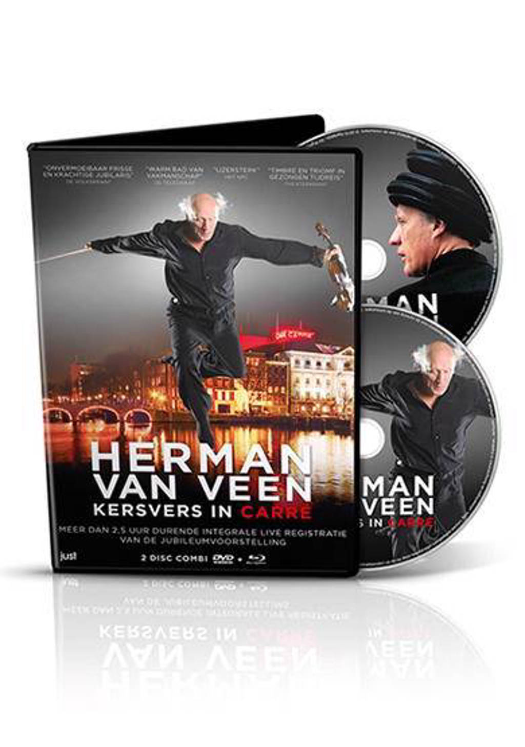 Herman van Veen - Kersvers in Carre (DVD)