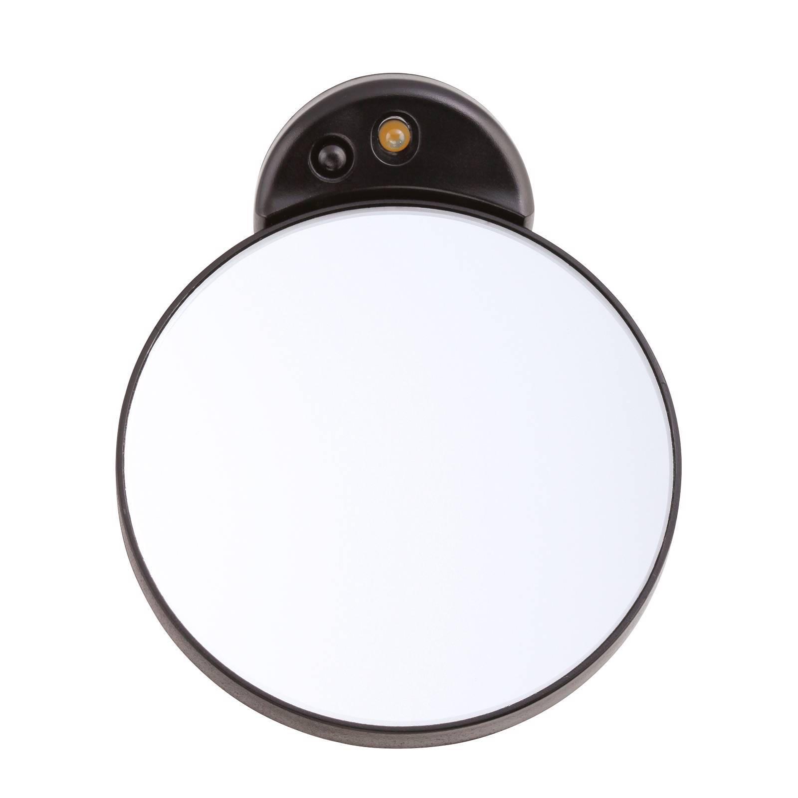 Tweezerman 10x vergrotende spiegel met licht | wehkamp
