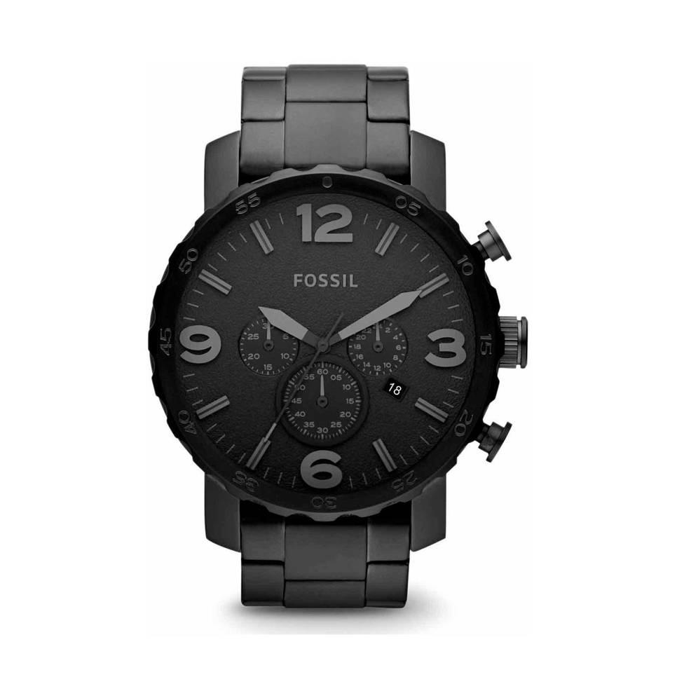 Fossil horloge, Zwart