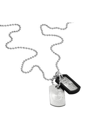 Double Dogtags Heren Collier DX0202040