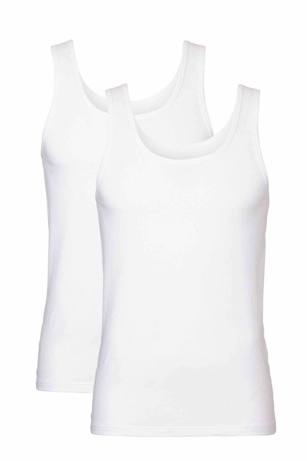 whkmp's own singlet (set van 2), Wit