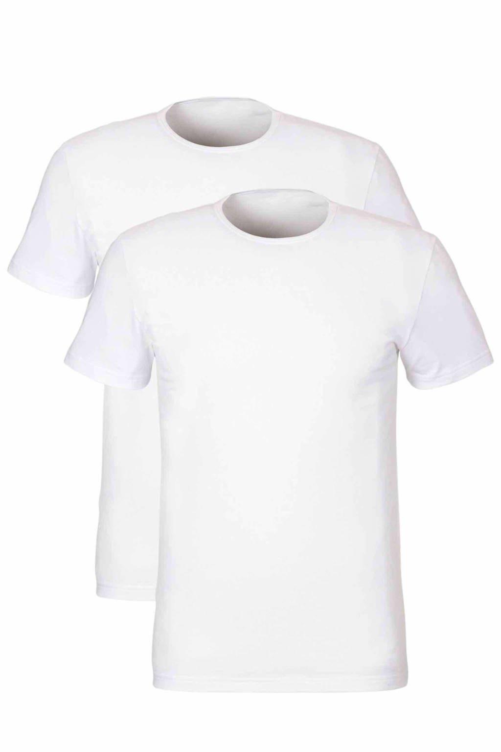 whkmp's own T-shirt (set van 2), Wit