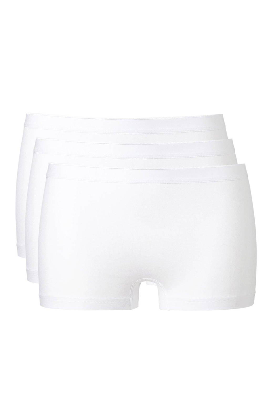 whkmp's own short (set van 3) wit, Wit