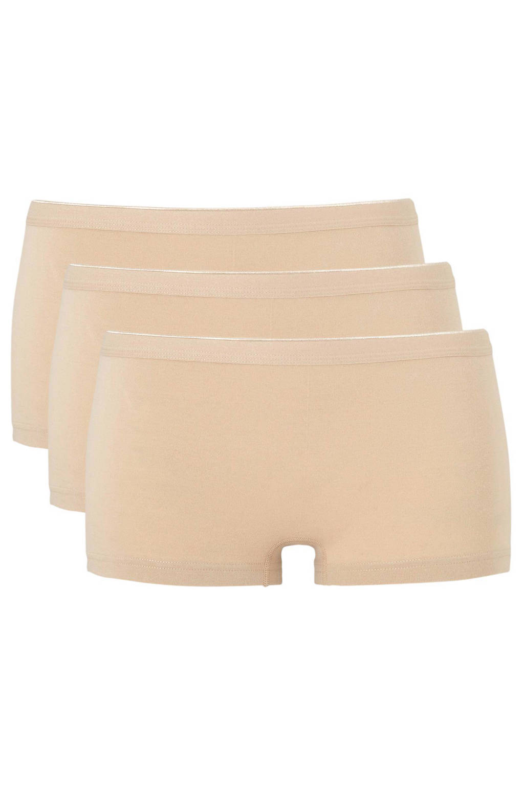 whkmp's own short (set van 3), Beige