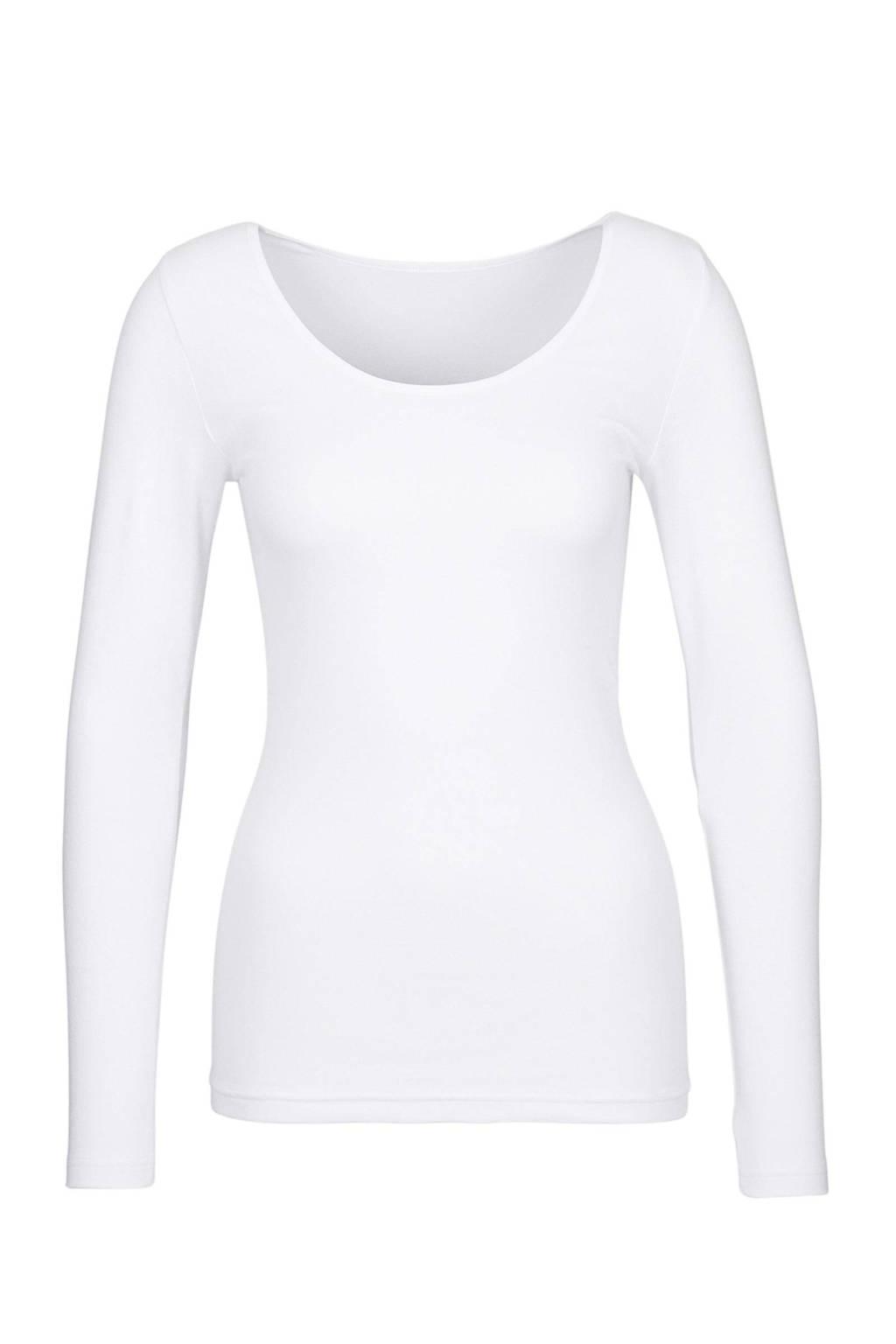 whkmp's own ondershirt met ronde hals wit, Wit