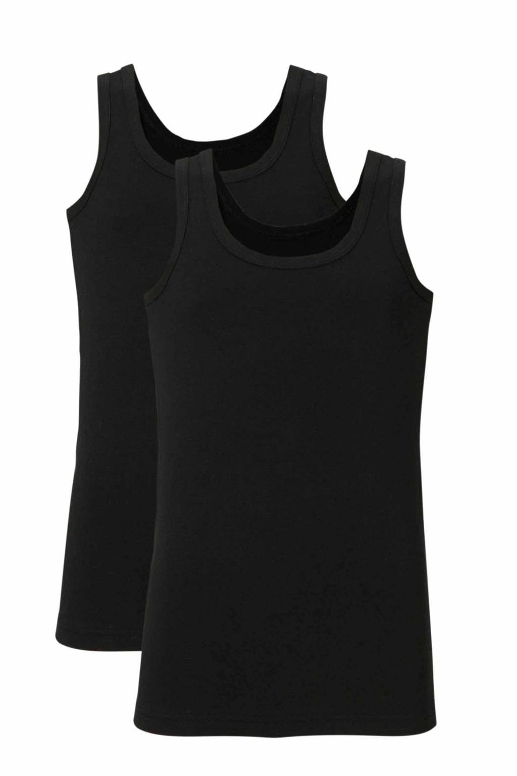 whkmp's own hemd (set van 2), Zwart