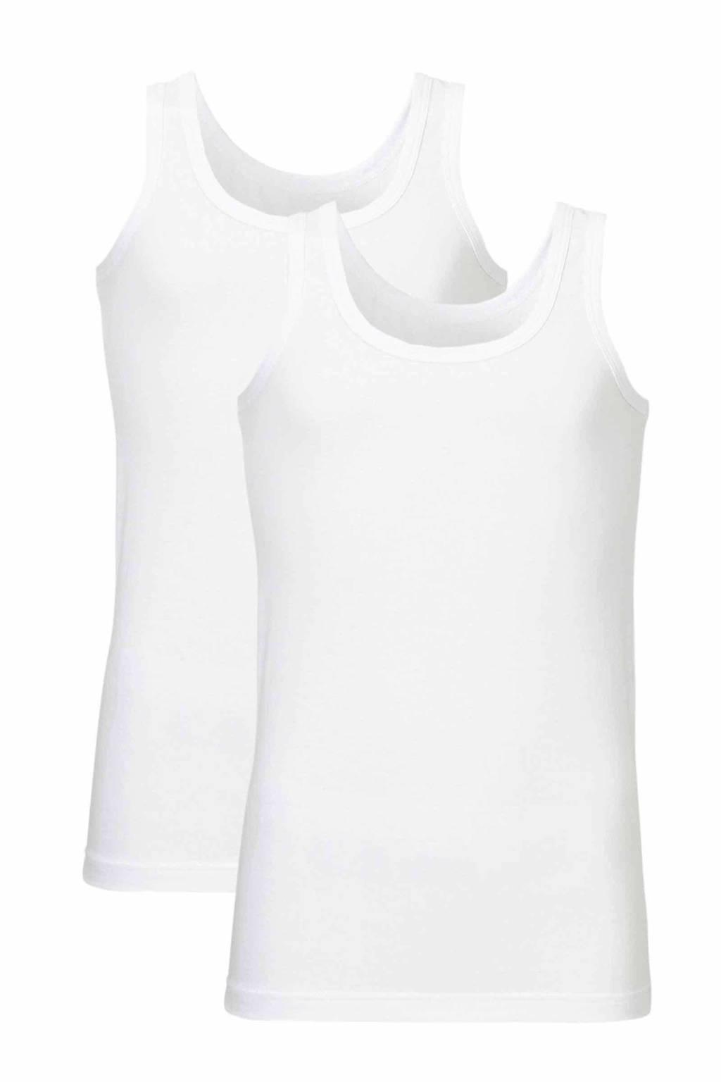 whkmp's own hemd (set van 2), Wit