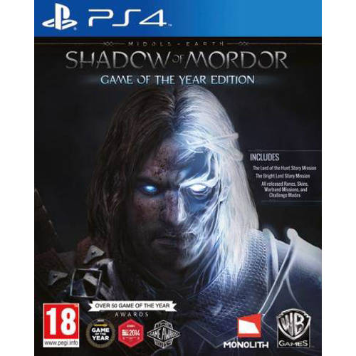 Shadow of mordor (Game of the year) (PlayStation 4) kopen