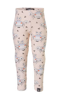 Your Wishes legging met all over print lichtroze (meisjes)