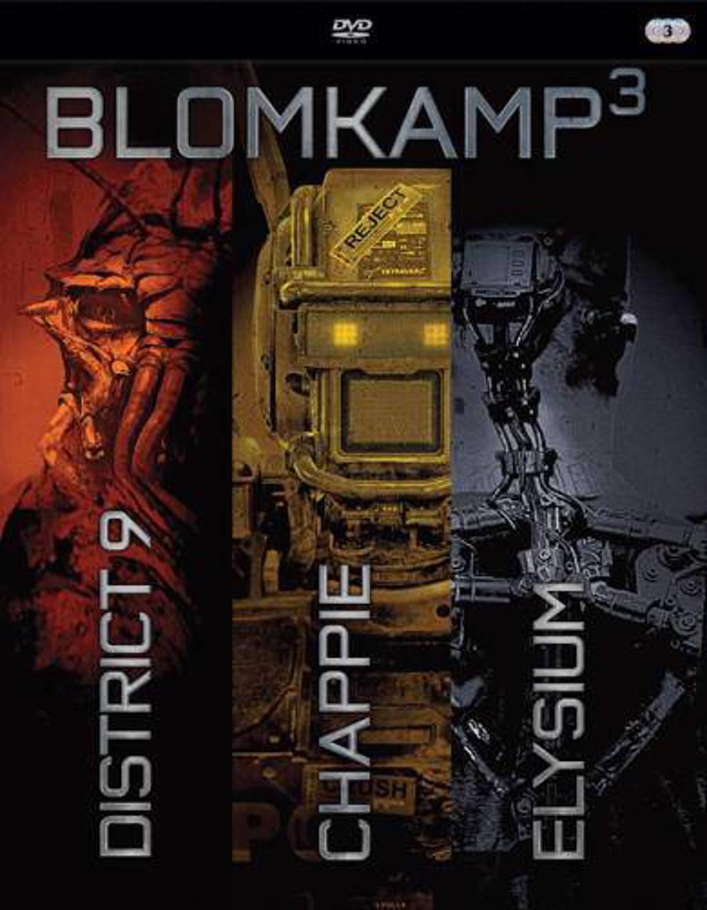 Chappie/District 9/Elysium (DVD)
