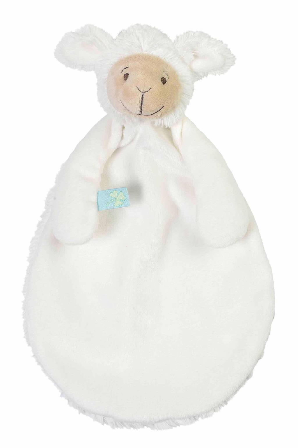 Happy Horse lamb Lugano knuffeldoekje, Wit