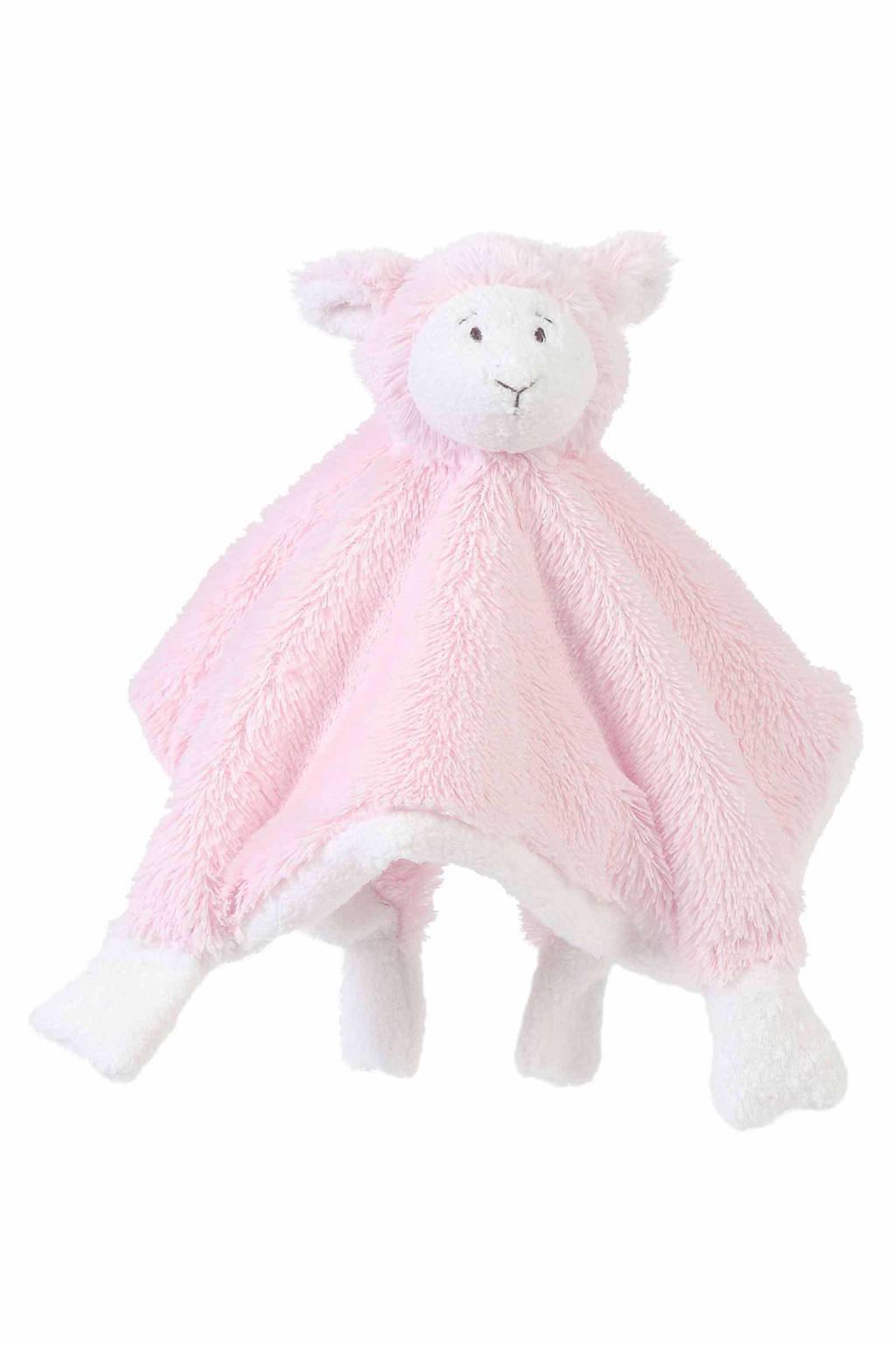 Happy Horse schaap Lammy knuffeldoekje, Roze