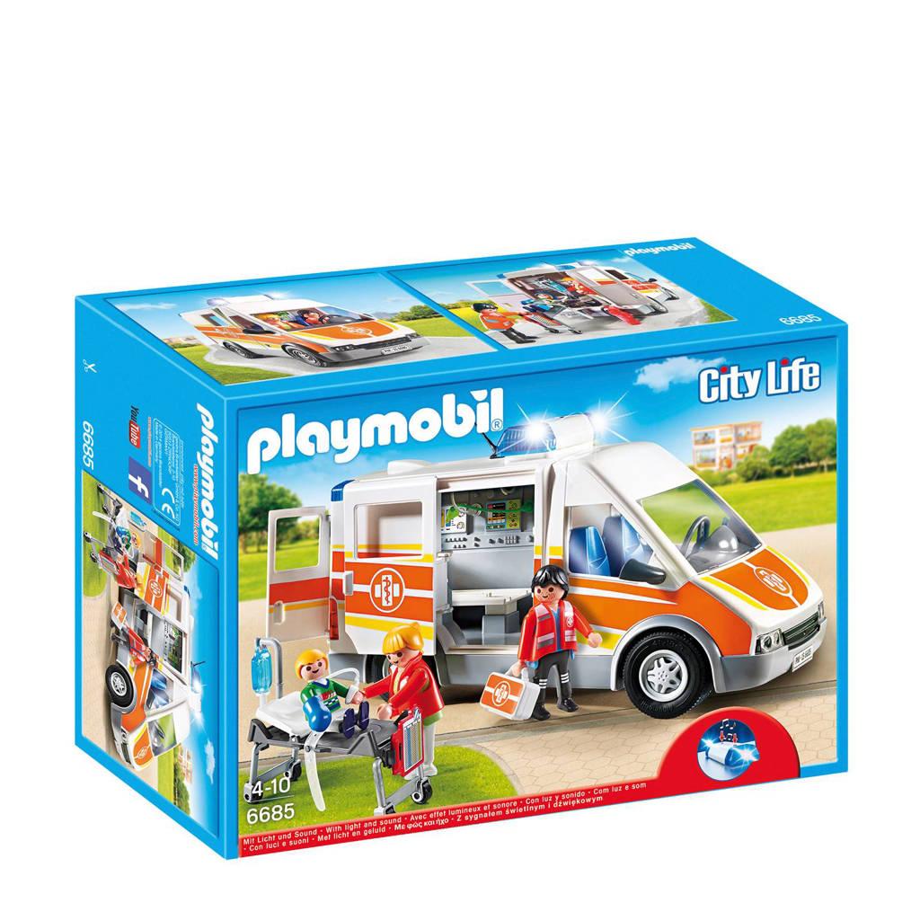 Playmobil City Life ziekenwagen 6685