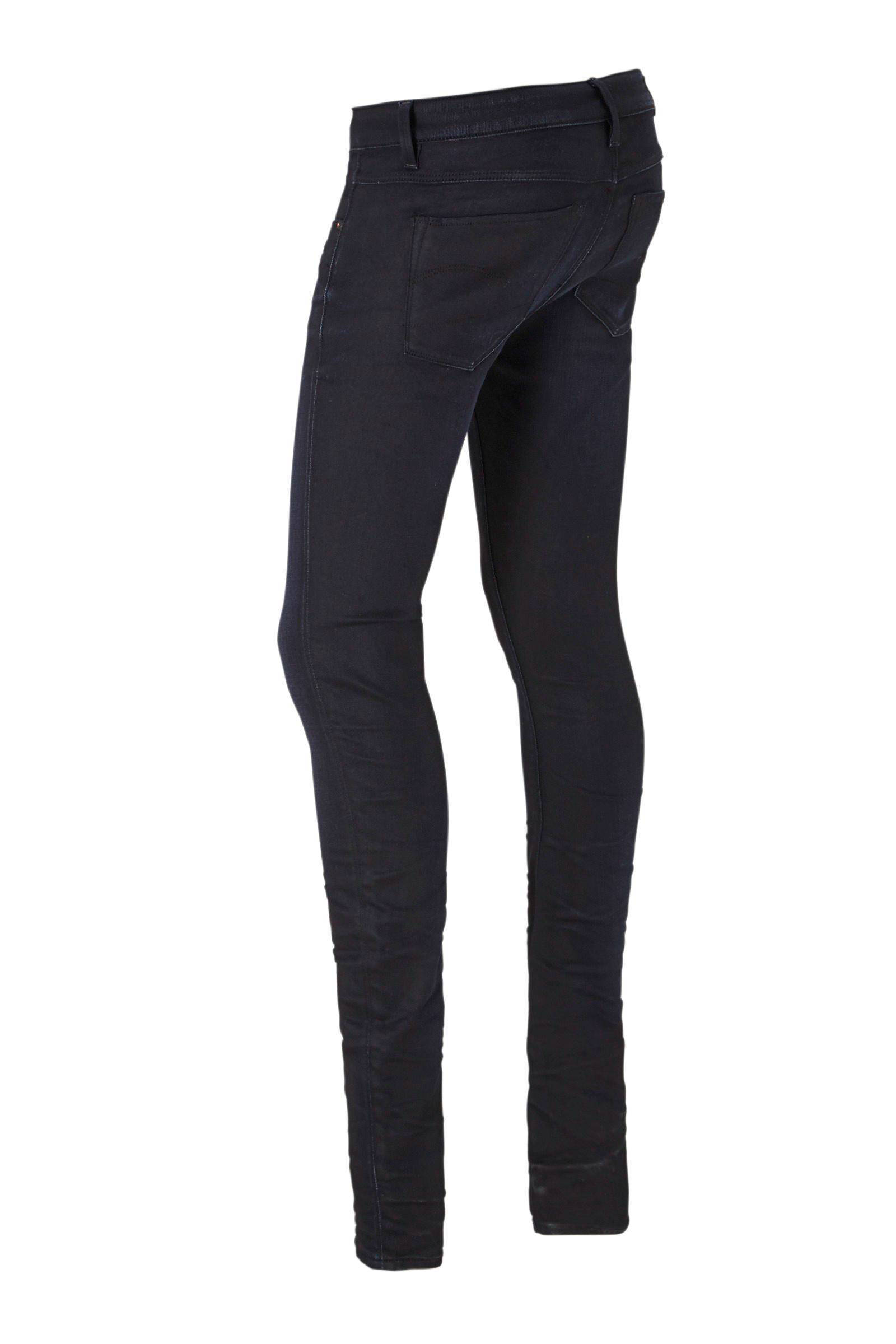 3301 High rise slim fit jeans met stretch