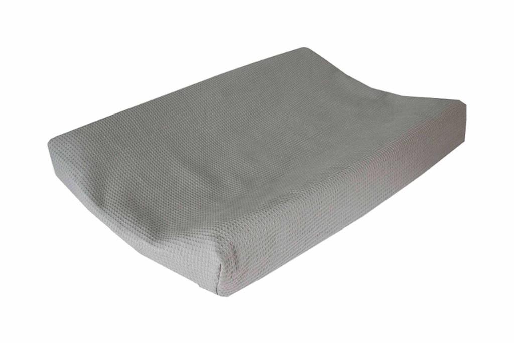 CottonBaby aankleedkussenhoes donkergrijs, Donkergrijs