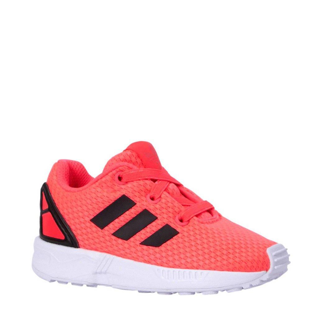 8f028d76cff adidas originals sneakers ZX Flux kids, Roze/zwart