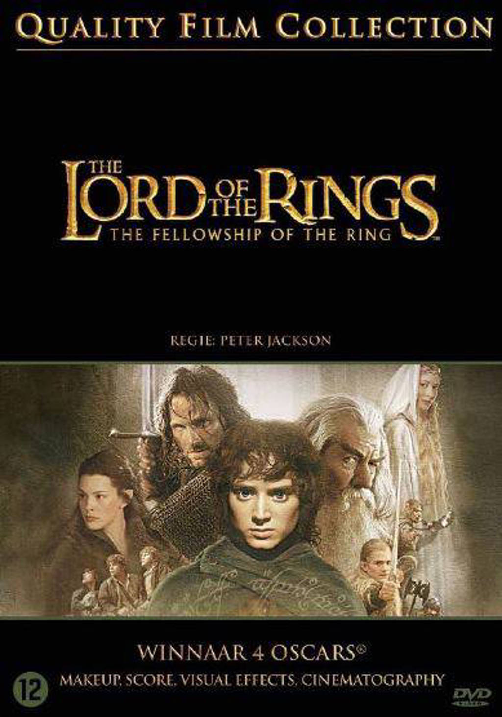 Lord of the rings - Fellowship of the ring (DVD)